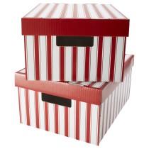 Коробка с крышкой ПИНГЛА белый артикуль № 603.507.93 в наличии. Онлайн каталог IKEA Минск. Недорогая доставка и монтаж.