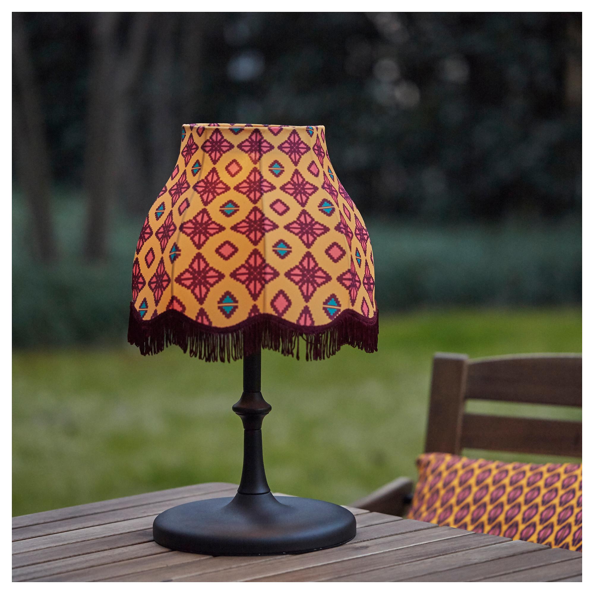 Настольная светодиодная лампа, солнечная батарея СОЛВИДЕН оранжевый артикуль № 203.405.84 в наличии. Онлайн сайт IKEA РБ. Быстрая доставка и соборка.