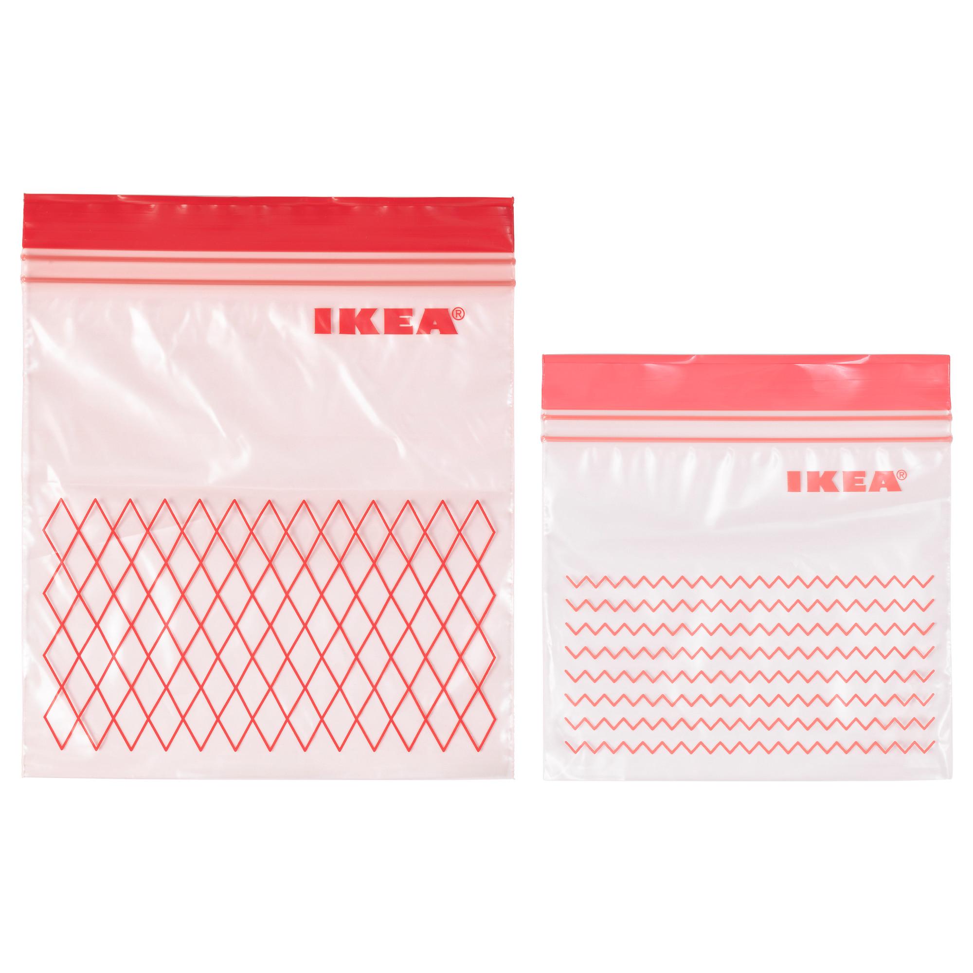 Пакет пластиковый ИСТАД красный артикуль № 203.392.84 в наличии. Интернет магазин ИКЕА Беларусь. Недорогая доставка и установка.