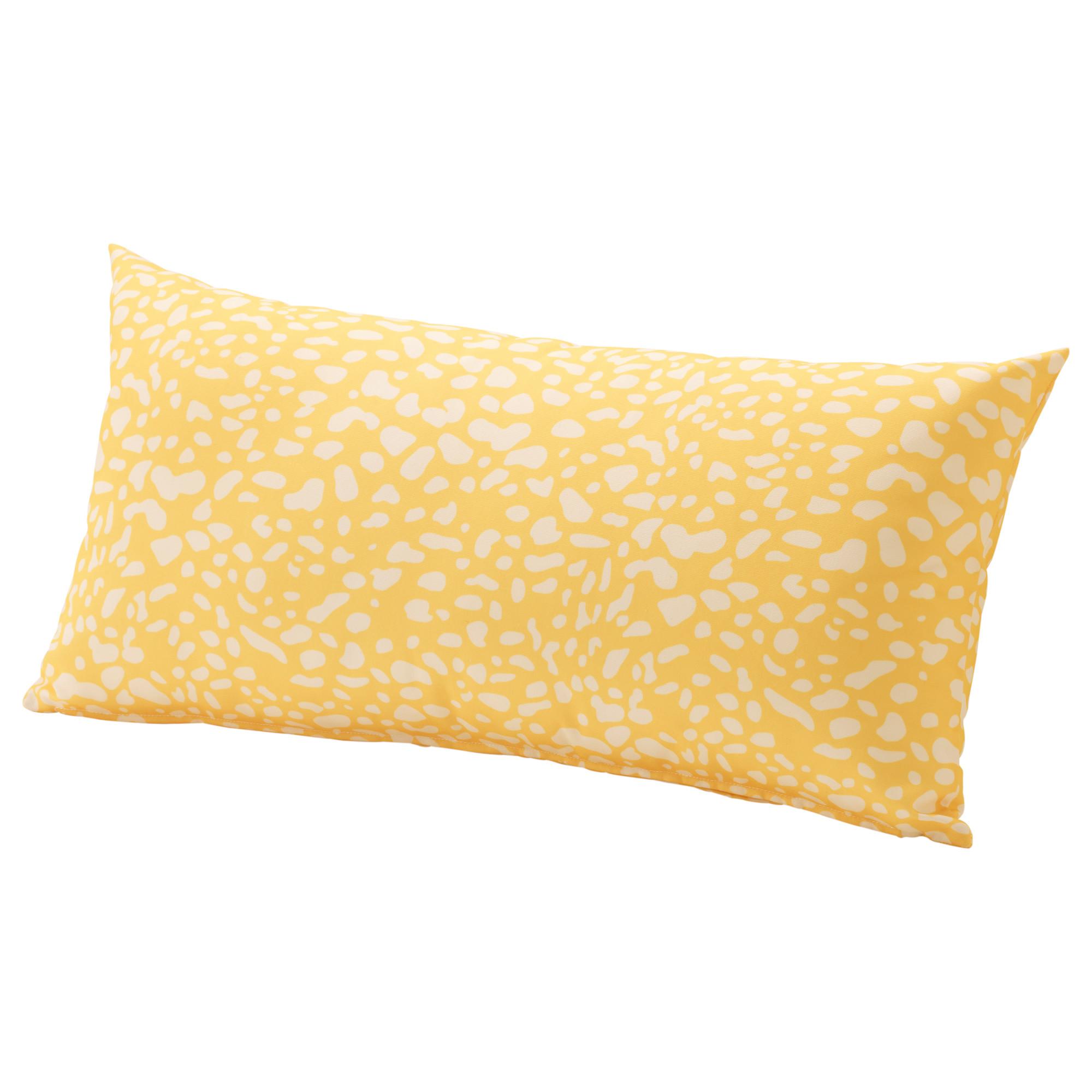 Подушка для садовой мебели ГРЕНО желтый артикуль № 603.380.08 в наличии. Интернет магазин IKEA Минск. Недорогая доставка и соборка.