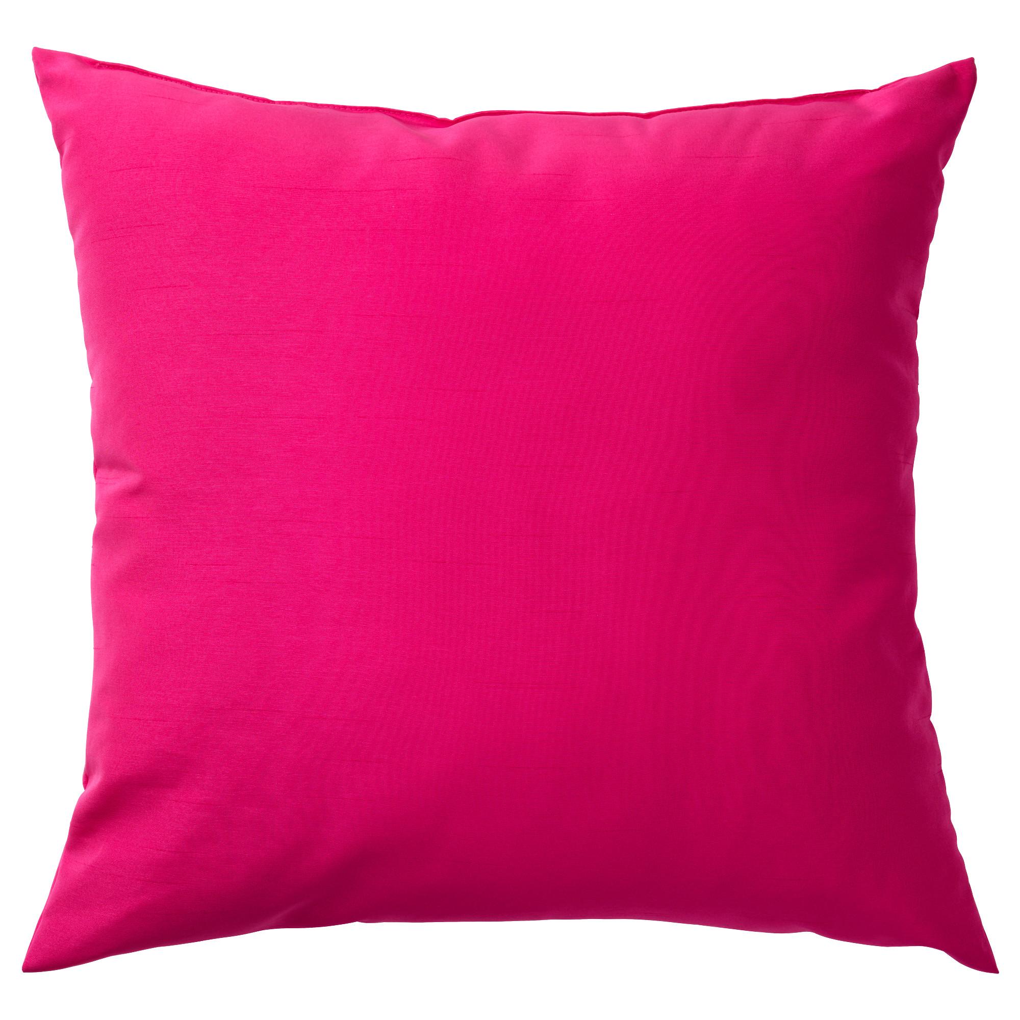 Подушка КРОНЭРТ, малиновый (40×40 см)