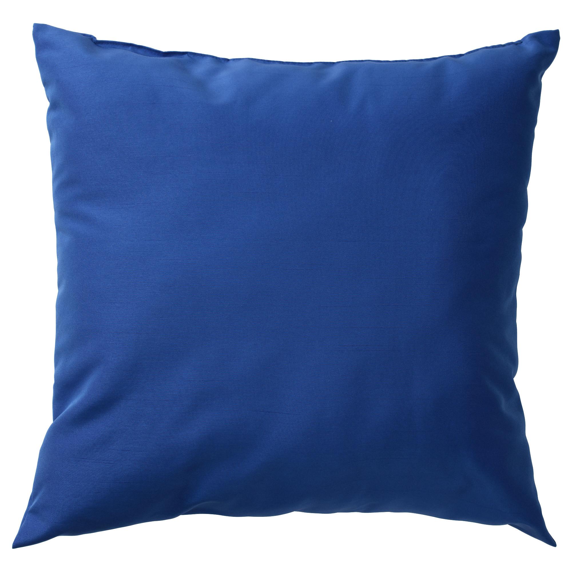 Подушка КРОНЭРТ, ярко-синий (40×40 см)
