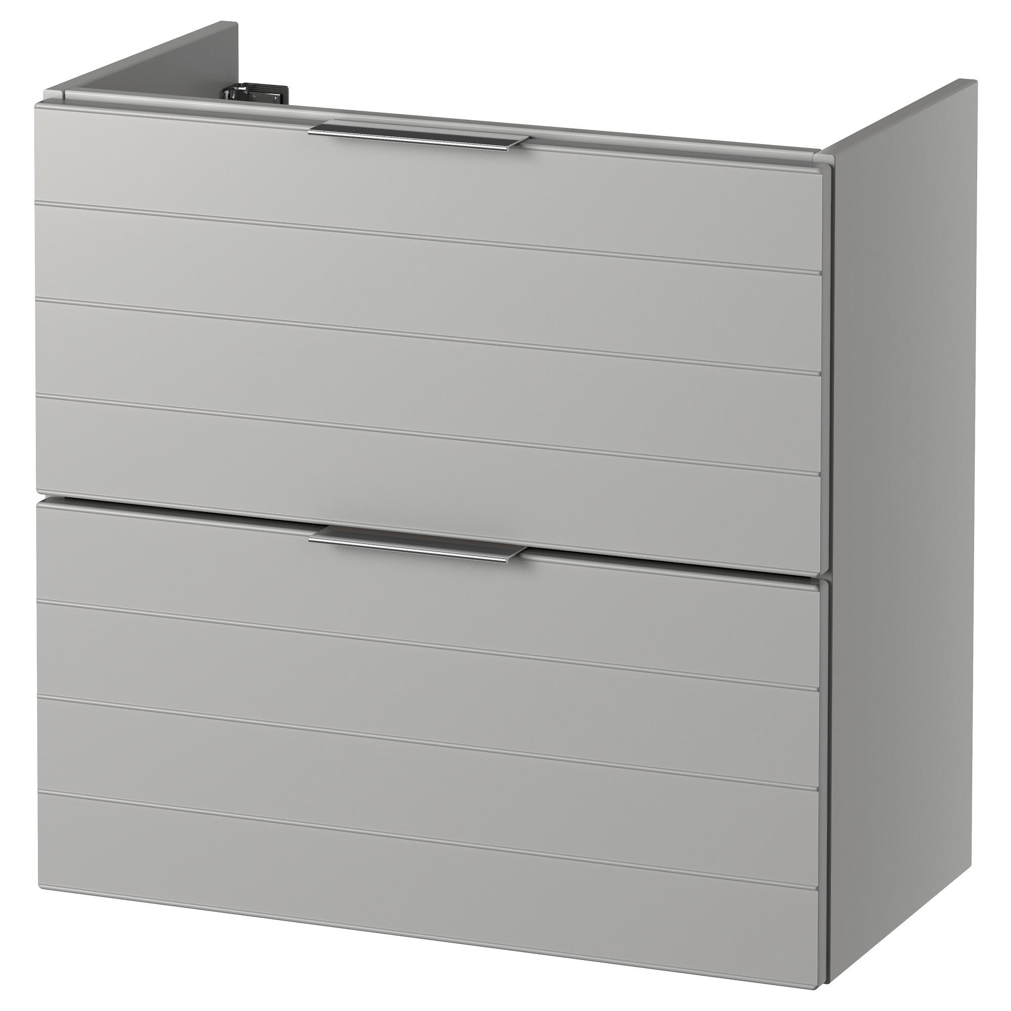 Шкаф для раковины с 2 ящиками ГОДМОРГОН светло-серый артикуль № 103.304.58 в наличии. Интернет каталог IKEA Беларусь. Быстрая доставка и монтаж.