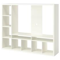 Шкаф для ТВ ЛАППЛАНД белый артикуль № 103.565.23 в наличии. Online магазин IKEA Республика Беларусь. Недорогая доставка и установка.