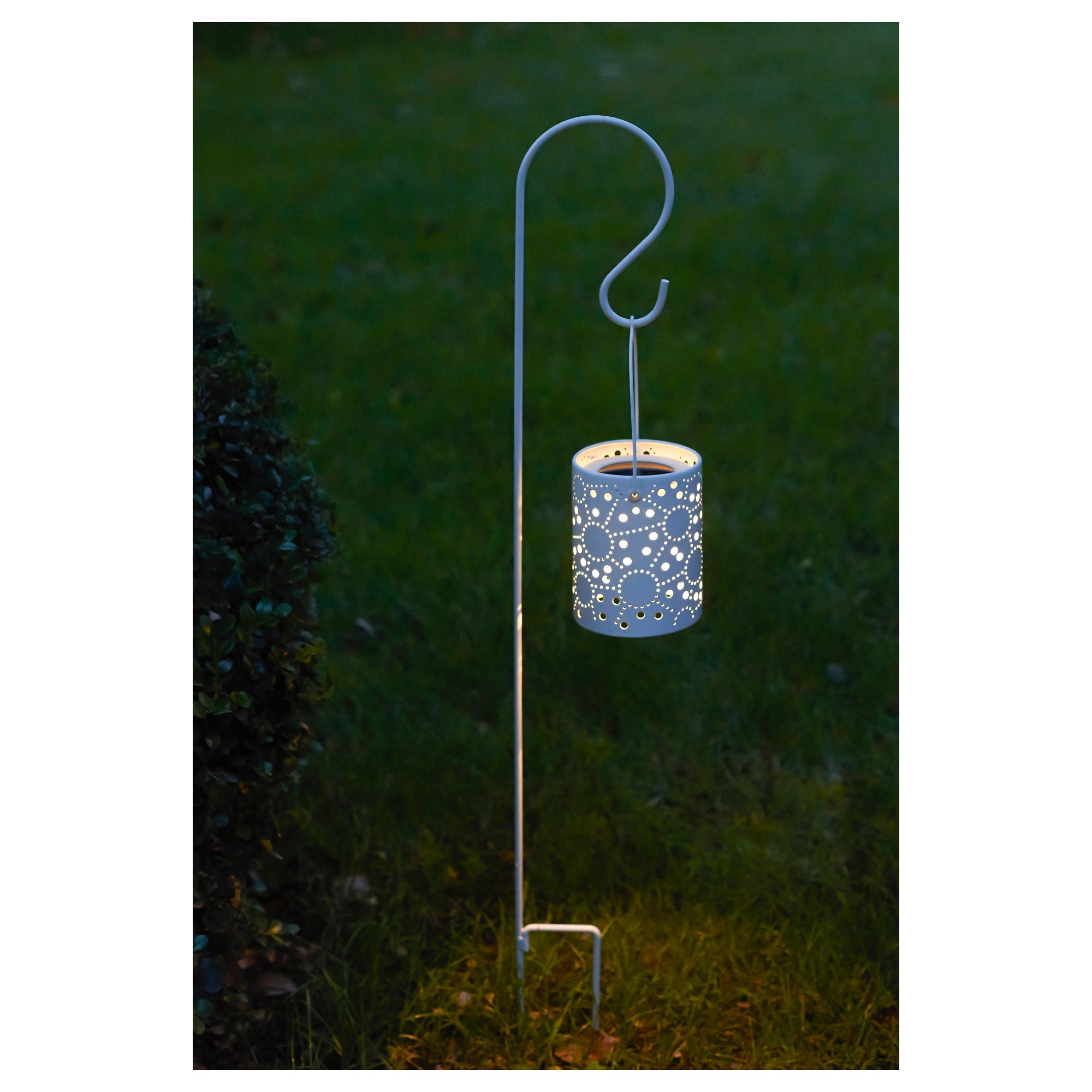 Светодиодный фонарь/солнечн батарея СОЛВИДЕН белый артикуль № 203.406.16 в наличии. Онлайн сайт IKEA Минск. Недорогая доставка и монтаж.
