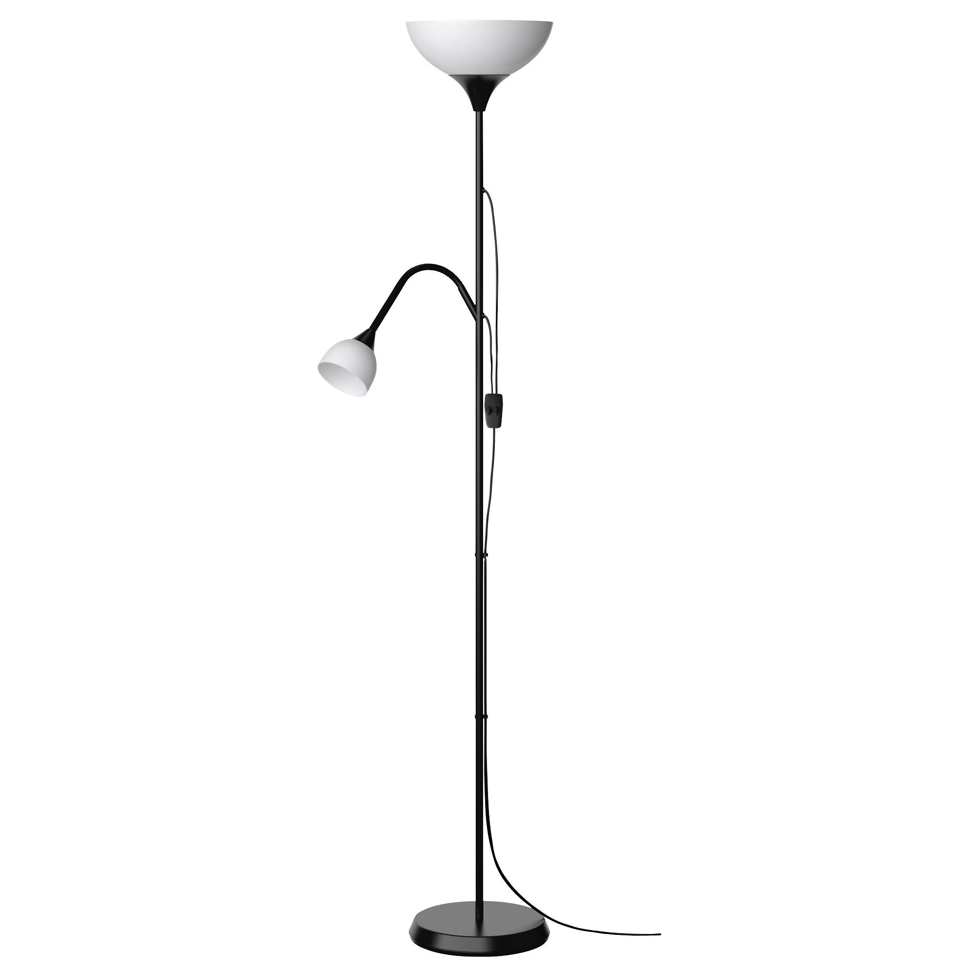 Торшер, лампа для чтения НУТ белый артикуль № 603.246.76 в наличии. Online магазин IKEA Беларусь. Недорогая доставка и соборка.