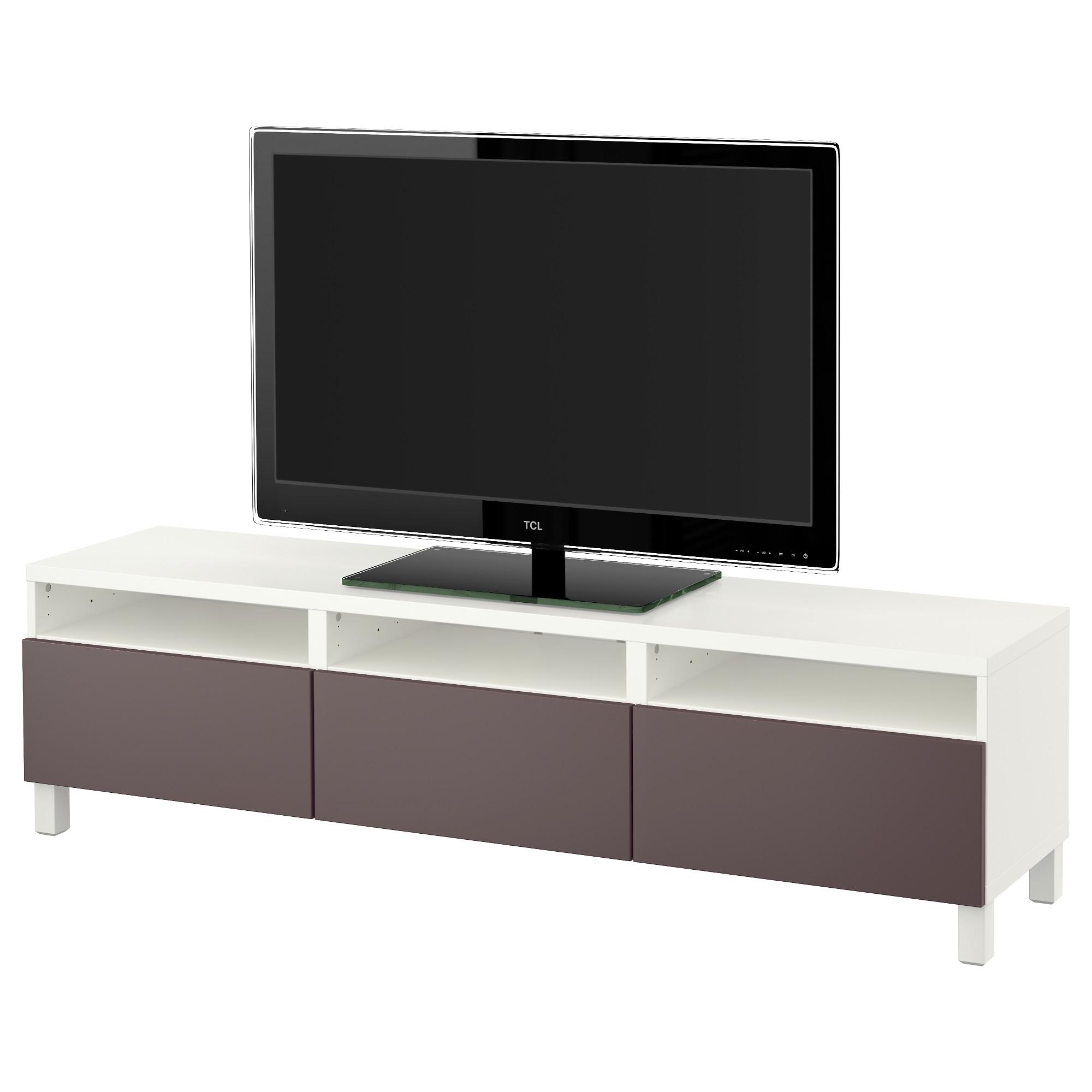 Тумба для ТВ с ящиками БЕСТО темно-коричневый артикуль № 191.395.87 в наличии. Интернет сайт IKEA Республика Беларусь. Быстрая доставка и соборка.
