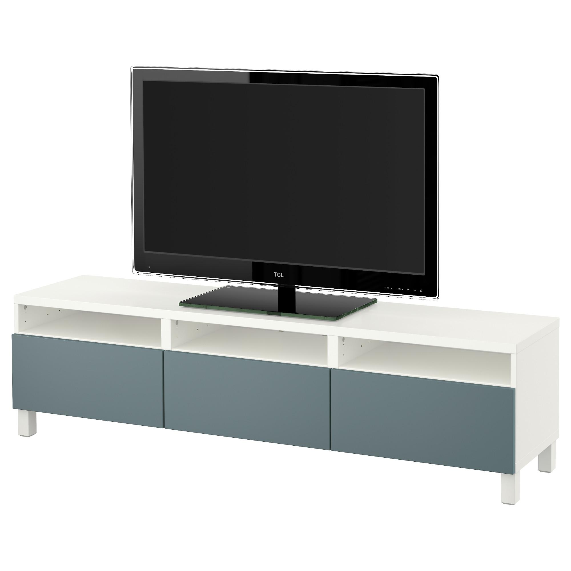 Тумба для ТВ с ящиками БЕСТО белый артикуль № 891.395.84 в наличии. Интернет сайт IKEA РБ. Быстрая доставка и установка.
