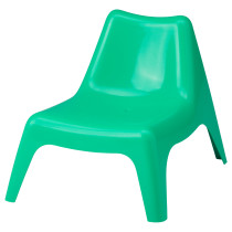 Детское садовое кресло БУНСЁ зеленый артикуль № 503.380.37 в наличии. Интернет сайт IKEA РБ. Быстрая доставка и монтаж.