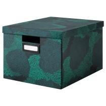Коробка с крышкой ТЬЕНА артикуль № 903.644.11 в наличии. Онлайн магазин ИКЕА РБ. Быстрая доставка и монтаж.