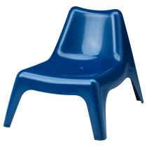 Садовое легкое кресло ИКЕА ПС ВОГЭ темно-синий артикуль № 103.380.39 в наличии. Онлайн сайт ИКЕА Беларусь. Недорогая доставка и соборка.