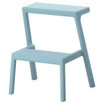 Табурет-лестница МЭСТЕРБИ голубой артикуль № 503.677.32 в наличии. Онлайн каталог IKEA Беларусь. Быстрая доставка и установка.