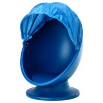 Вращающееся кресло ИКЕА ПС ЛЁМСК синий артикуль № 003.661.22 в наличии. Online магазин IKEA РБ. Недорогая доставка и установка.