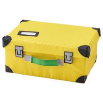 Чемодан для игрушек ФЛЮТТБАР желтый артикуль № 103.659.85 в наличии. Онлайн каталог IKEA Республика Беларусь. Недорогая доставка и установка.