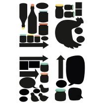 Декоративные наклейки КЛЭТТА артикуль № 903.718.69 в наличии. Интернет сайт IKEA Беларусь. Недорогая доставка и соборка.