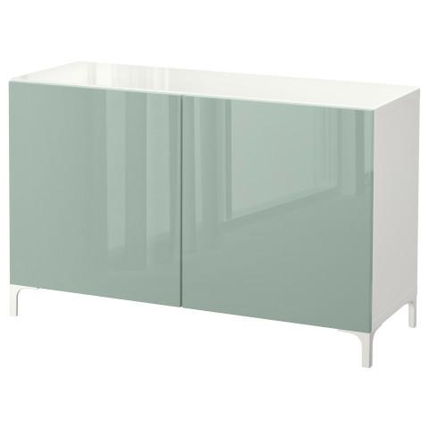 Комбинация для хранения с дверцами БЕСТО белый артикуль № 292.101.73 в наличии. Интернет магазин IKEA РБ. Недорогая доставка и соборка.