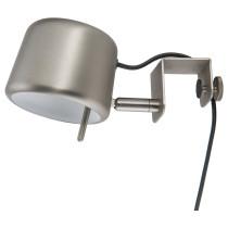 Лампа с зажимом ВАРВ серебристый артикуль № 503.607.21 в наличии. Интернет каталог IKEA РБ. Быстрая доставка и установка.