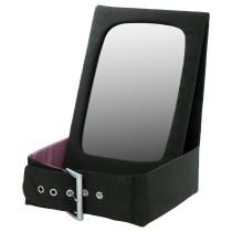 Настольное зеркало БЕТРАКТА черный артикуль № 503.662.47 в наличии. Online сайт IKEA Республика Беларусь. Быстрая доставка и установка.