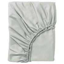 Простыня натяжная НАТТЭСМИН светло-серый артикуль № 103.512.57 в наличии. Online магазин IKEA РБ. Недорогая доставка и установка.