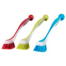 Щетка для мытья посуды ПЛАСТИС разные цвета артикуль № 403.731.49 в наличии. Онлайн магазин ИКЕА Минск. Недорогая доставка и соборка.