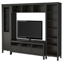 Шкаф для ТВ, комбинация ХЕМНЭС артикуль № 192.310.48 в наличии. Онлайн сайт IKEA Беларусь. Быстрая доставка и монтаж.