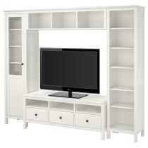 Шкаф для ТВ, комбинация ХЕМНЭС артикуль № 792.310.50 в наличии. Интернет каталог IKEA РБ. Быстрая доставка и монтаж.