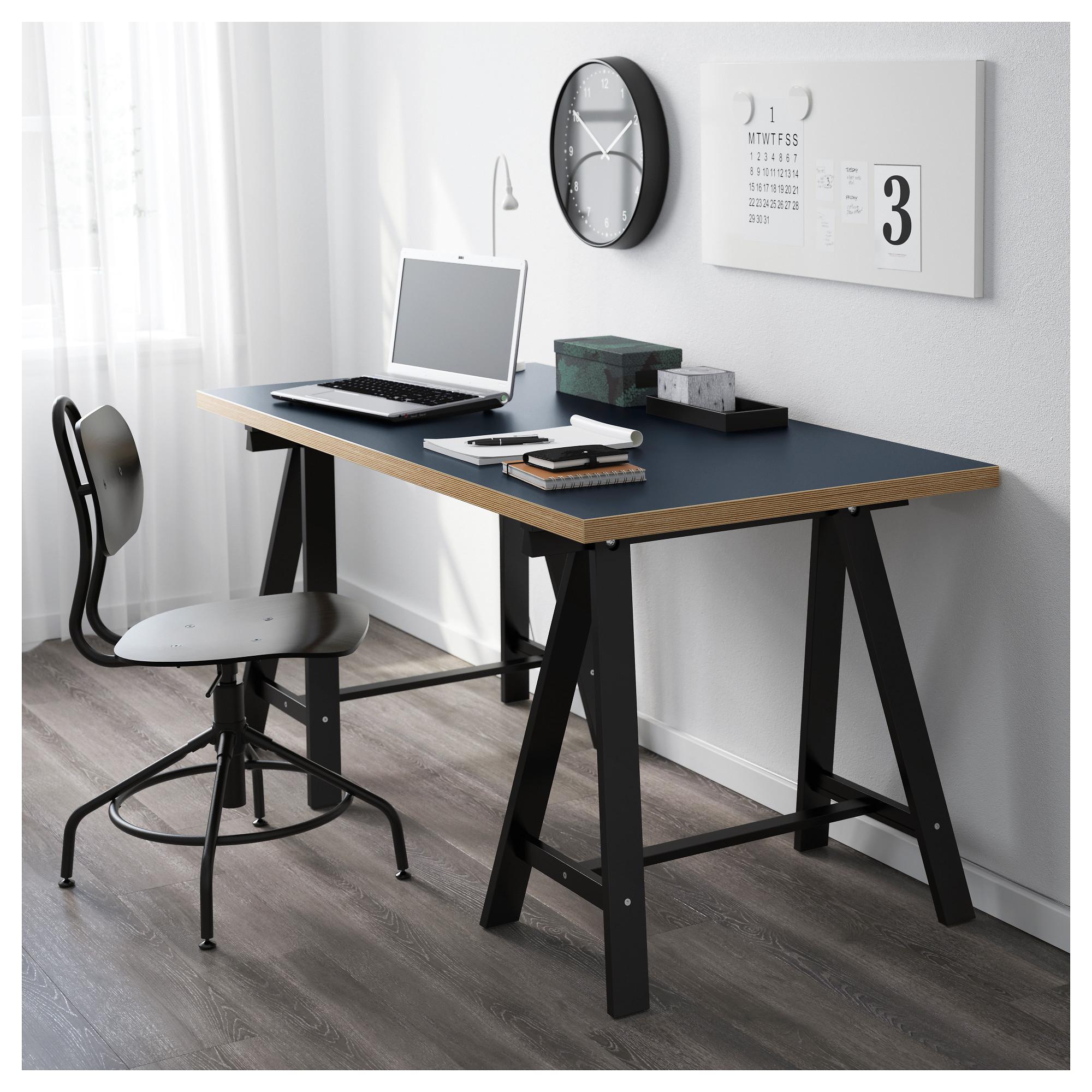 Купить СтоРЛИННМОН ОДВАЛЬД синий черный в IKEA Минск Цена