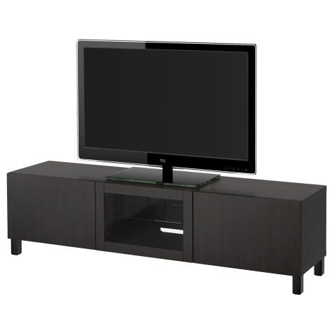 Тумба под ТВ с ящиками и дверцей БЕСТО артикуль № 591.914.46 в наличии. Онлайн сайт IKEA РБ. Недорогая доставка и установка.