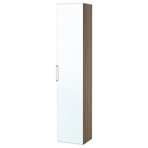 Высокий шкаф с зеркальной дверцей ГОДМОРГОН артикуль № 203.495.94 в наличии. Online магазин IKEA Минск. Недорогая доставка и установка.