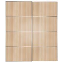 Пара раздвижных дверей ВОЛЬДА цвет алюминия артикуль № 692.406.96 в наличии. Интернет сайт IKEA РБ. Быстрая доставка и монтаж.
