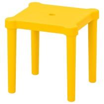 Табурет детский УТТЕР желтый артикуль № 503.627.20 в наличии. Онлайн каталог IKEA Минск. Быстрая доставка и установка.