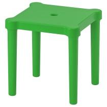 Табурет детский УТТЕР зеленый артикуль № 803.627.14 в наличии. Онлайн сайт ИКЕА РБ. Быстрая доставка и установка.