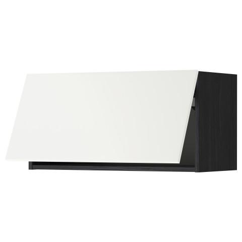 Горизонтальный навесной шкаф МЕТОД черный артикуль № 092.261.13 в наличии. Интернет сайт IKEA Республика Беларусь. Недорогая доставка и установка.