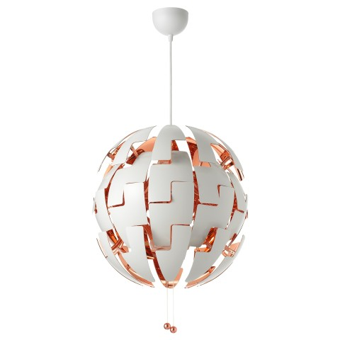 Подвесной светильник ИКЕА ПС 2014 медный артикуль № 903.609.03 в наличии. Online сайт IKEA РБ. Быстрая доставка и монтаж.