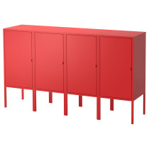 Комбинация для хранения ЛИКСГУЛЬТ красный артикуль № 992.488.70 в наличии. Интернет каталог IKEA Минск. Быстрая доставка и монтаж.