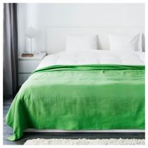 Покрывало ИНДИРА зеленый артикуль № 203.043.50 в наличии. Online сайт IKEA РБ. Недорогая доставка и установка.