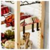 1 секция, полки/полки для/бутылок ИВАР серый артикуль № 792.304.61 в наличии. Онлайн магазин IKEA РБ. Быстрая доставка и установка.