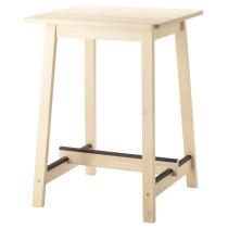 Барный стол НОРРОКЕР белый артикуль № 003.597.77 в наличии. Интернет каталог IKEA РБ. Быстрая доставка и соборка.