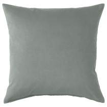 Чехол на подушку САНЕЛА серо-зеленый артикуль № 303.698.74 в наличии. Онлайн каталог IKEA Минск. Быстрая доставка и монтаж.