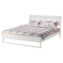 Каркас кровати ТРИСИЛ светло-серый артикуль № 392.110.92 в наличии. Интернет магазин IKEA РБ. Быстрая доставка и установка.