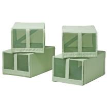 Коробка для обуви СКУББ светло-зеленый артикуль № 003.966.09 в наличии. Онлайн сайт IKEA Республика Беларусь. Быстрая доставка и установка.
