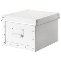 Коробка с крышкой ФЬЕЛЛА белый артикуль № 203.644.43 в наличии. Онлайн каталог IKEA РБ. Недорогая доставка и соборка.