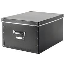 Коробка с крышкой ФЬЕЛЛА темно-серый артикуль № 603.763.97 в наличии. Online сайт IKEA РБ. Быстрая доставка и соборка.