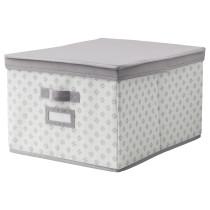 Коробка с крышкой СВИРА артикуль № 003.750.89 в наличии. Онлайн сайт IKEA РБ. Быстрая доставка и соборка.