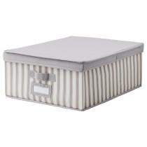 Коробка с крышкой СВИРА артикуль № 003.751.07 в наличии. Онлайн магазин ИКЕА РБ. Быстрая доставка и установка.