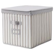 Коробка с крышкой СВИРА артикуль № 203.751.25 в наличии. Интернет сайт IKEA Республика Беларусь. Недорогая доставка и монтаж.