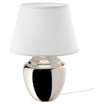Лампа настольная РИККАРУМ серебристый артикуль № 603.561.82 в наличии. Онлайн каталог ИКЕА РБ. Недорогая доставка и соборка.