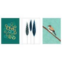 Набор постеров, 3 штуки ТРИЛЛИНГ артикуль № 403.656.01 в наличии. Online сайт IKEA Минск. Быстрая доставка и установка.