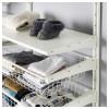 Настенная шина, полки, штанга АЛЬГОТ белый артикуль № 192.302.61 в наличии. Онлайн сайт IKEA Минск. Недорогая доставка и соборка.