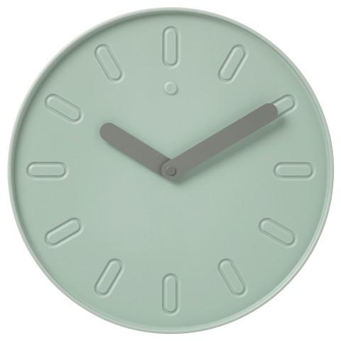 Настенные часы СЛИПСТЕН зеленый артикуль № 103.587.77 в наличии. Интернет сайт ИКЕА Республика Беларусь. Недорогая доставка и соборка.